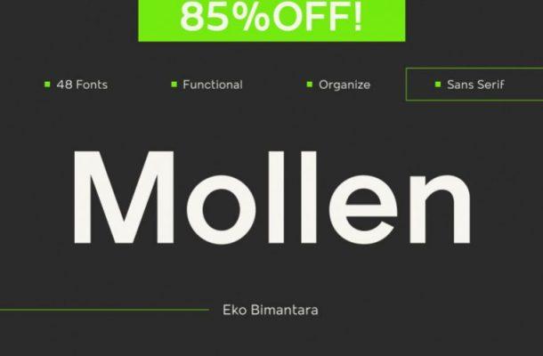 Mollen Sans Font