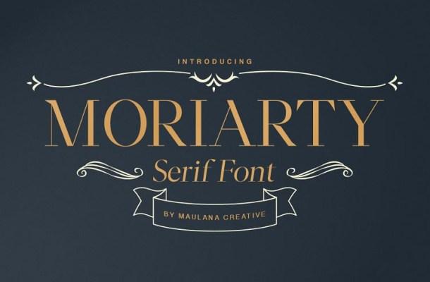 Moriarty Serif Demo Font