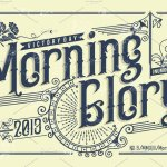 Morning Glory Font
