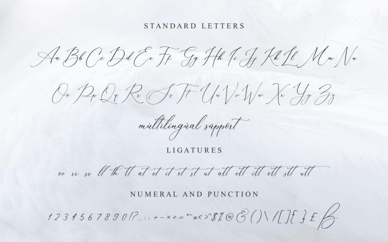 Muttaqin Calligraphy Font-3