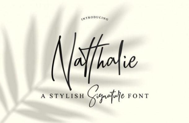 Natthalie Handwritten Font