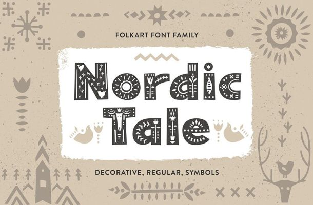 Nordic Tale Font Family