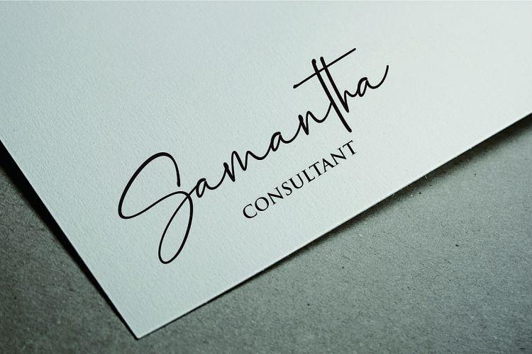 Palmaton Handwritten Font-4