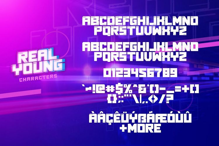 Real Young Typeface-2