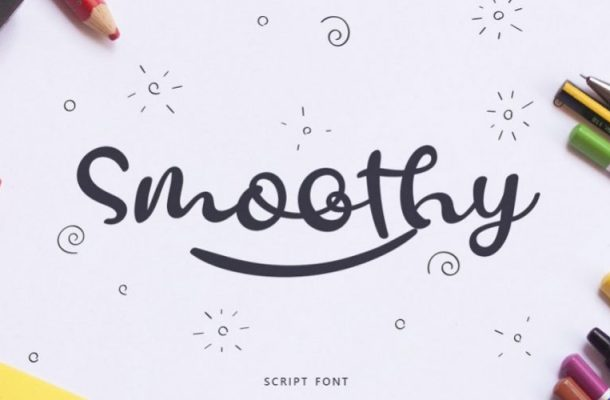 Smoothy Script Font