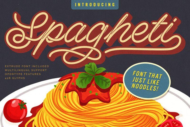 Spagheti Script Font