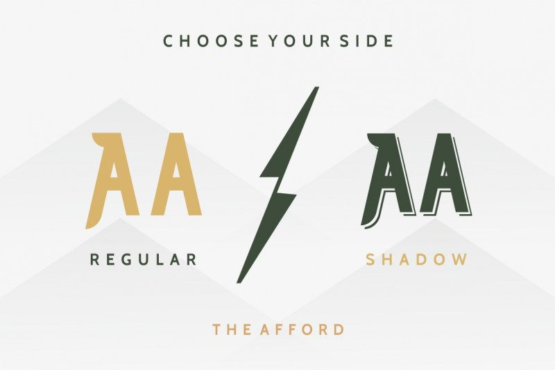 The Afford Display Font-2