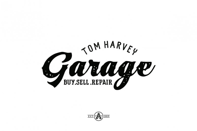 Tom Harvey Display Font-2