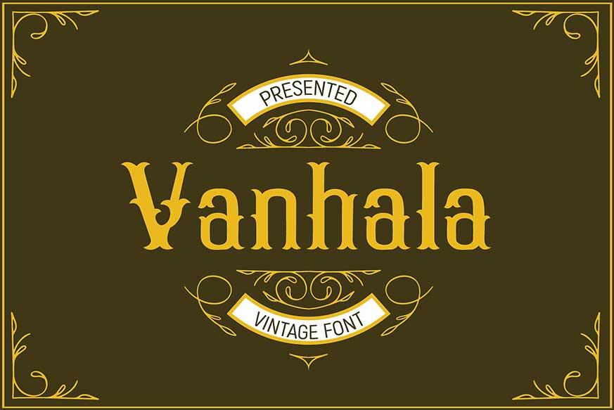 Vanhala Font-1