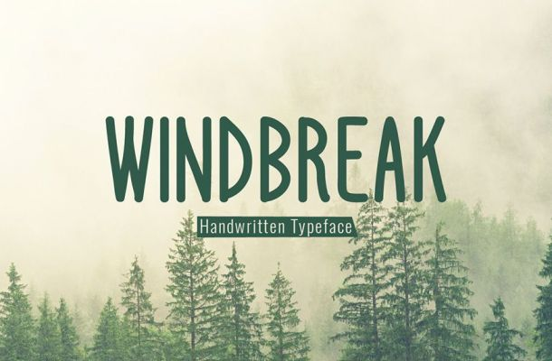 Windbreak Font