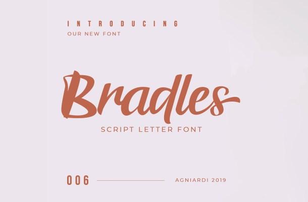 Bradles Script Font