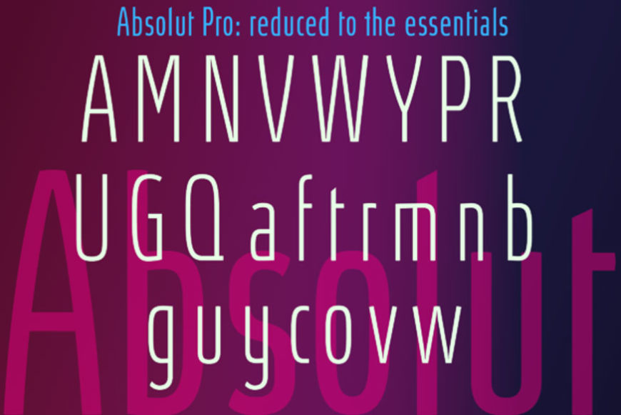 Absolut Pro Ultra Condensed Font-2