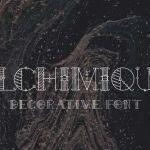 Alchimique Decorative Font