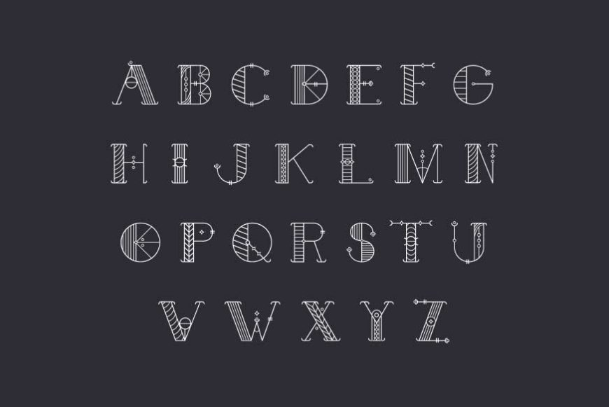 Alchimique Decorative Font-3