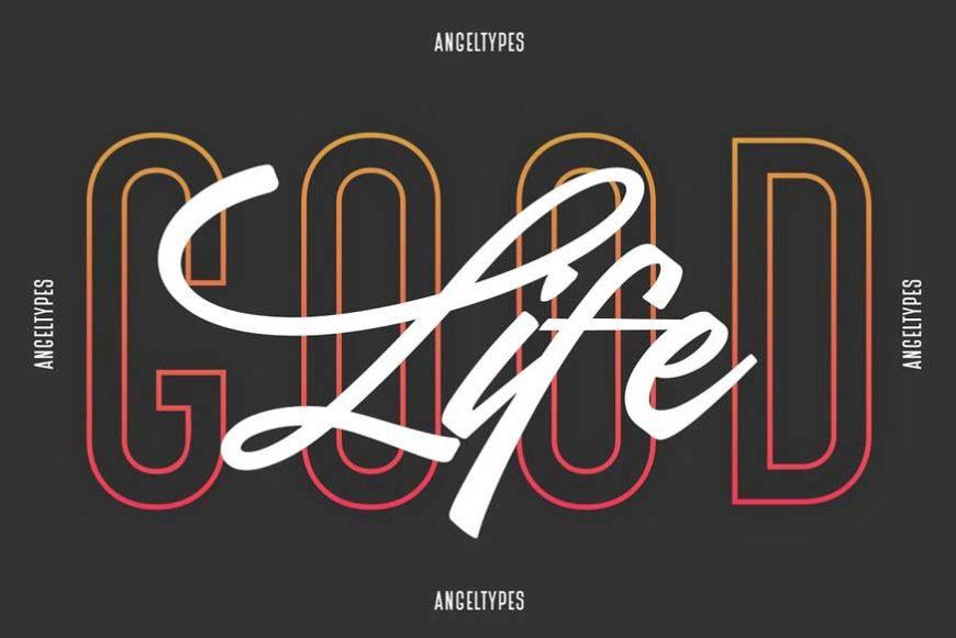 Angel Types Dual Font-2