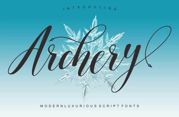 Archery Script Font