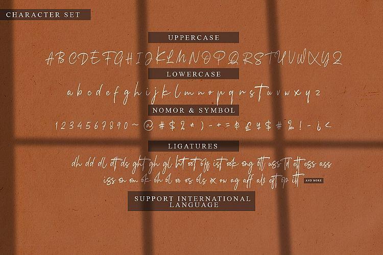 Arkania Handwritten Font-3
