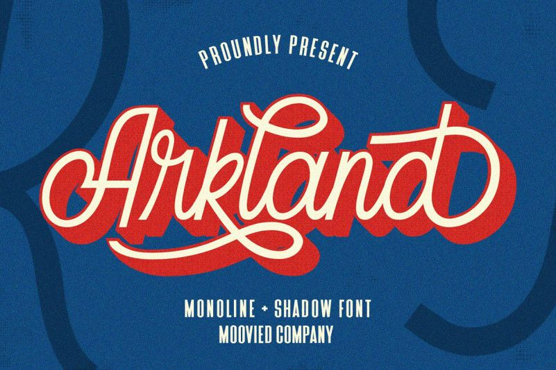Arkland Monoline Script Font-1