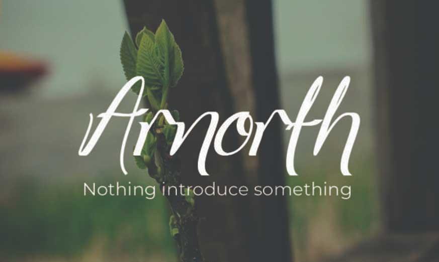 Arnorhth Font-1