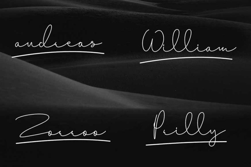 Baritto Handwritten Font-3