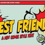 Best Friends Comic Font