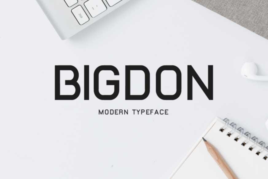 Bigdon Font-1