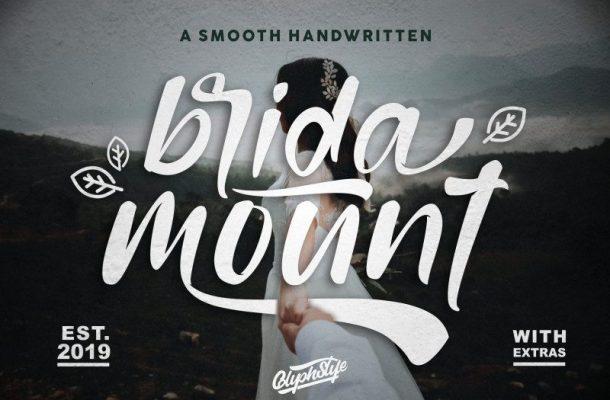 Bridamount Script Font