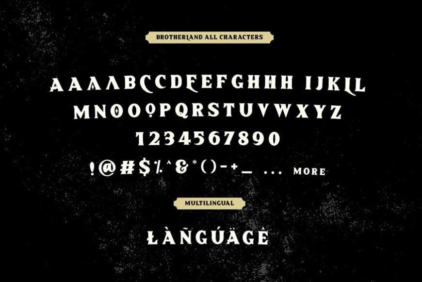 Brotherland American Vintage Font-4
