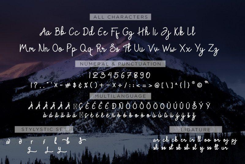 Chattagirie Handwritten Font-3
