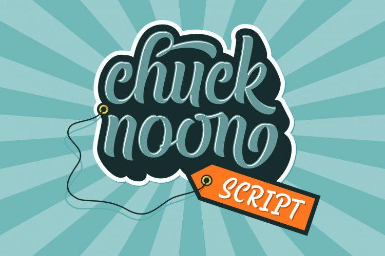 Chuck Noon Script Font-1