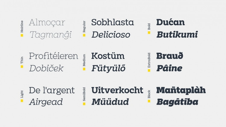Clab Font Family-3