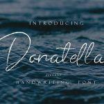 Donatella Handwritten Font