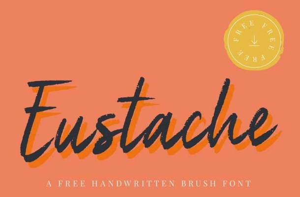 Eustache Handwritten Brush Font