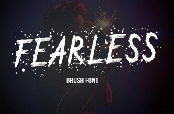 Fearless Brush Font