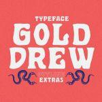 Golddrew Display Font