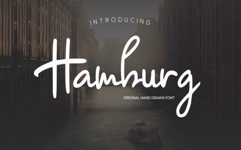 Hamburg Signature Font-1