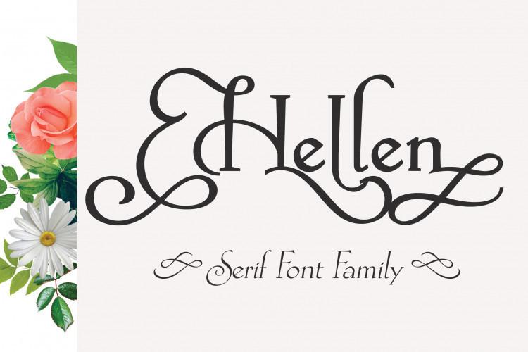 Hellen Serif Free Font-1