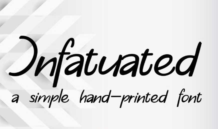 Infatuated Font-1