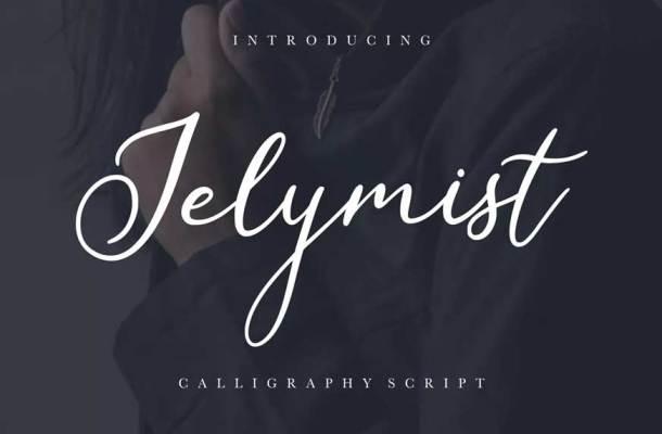 Jelymist Calligraphy Script Font