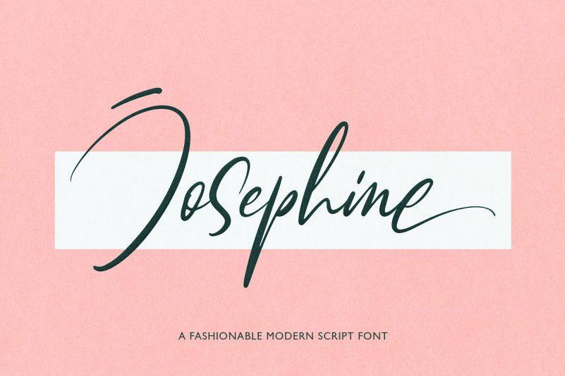Josephine Script Font-1