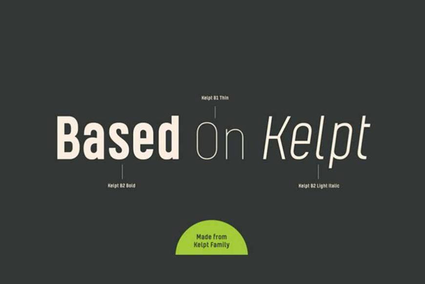 Kelpt Sans Font Family-2