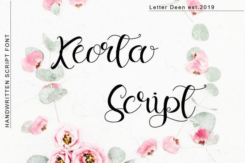 Keorta Script Font-1