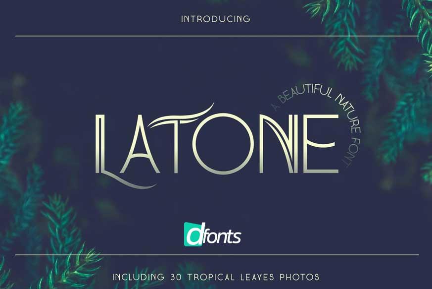 Latone Font-1