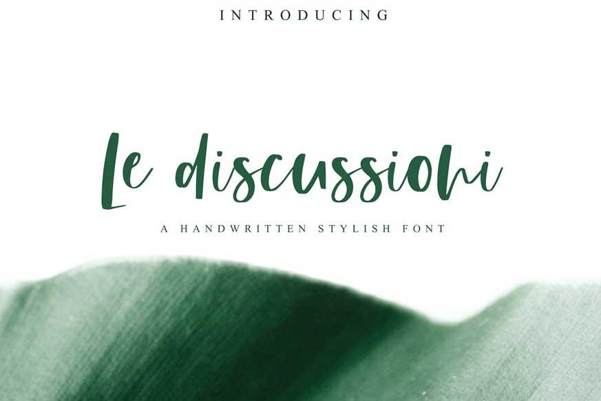 Le Discussioni Font-1