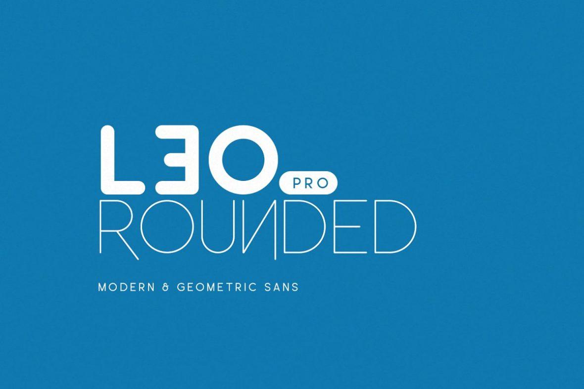 Leo Rounded Pro Font-1