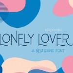 Lonely Lover Sans Font