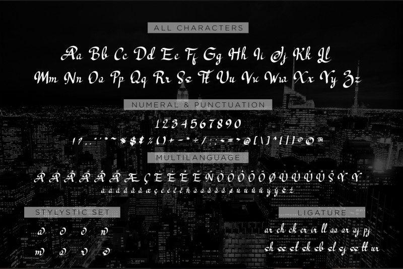 Los Angeles Modern Script Font-3
