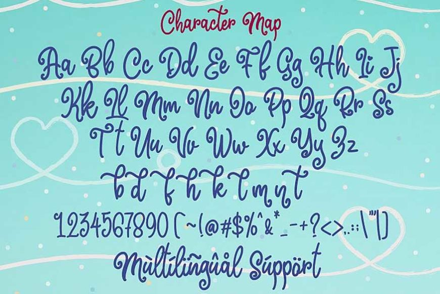 Marline Script Font-3