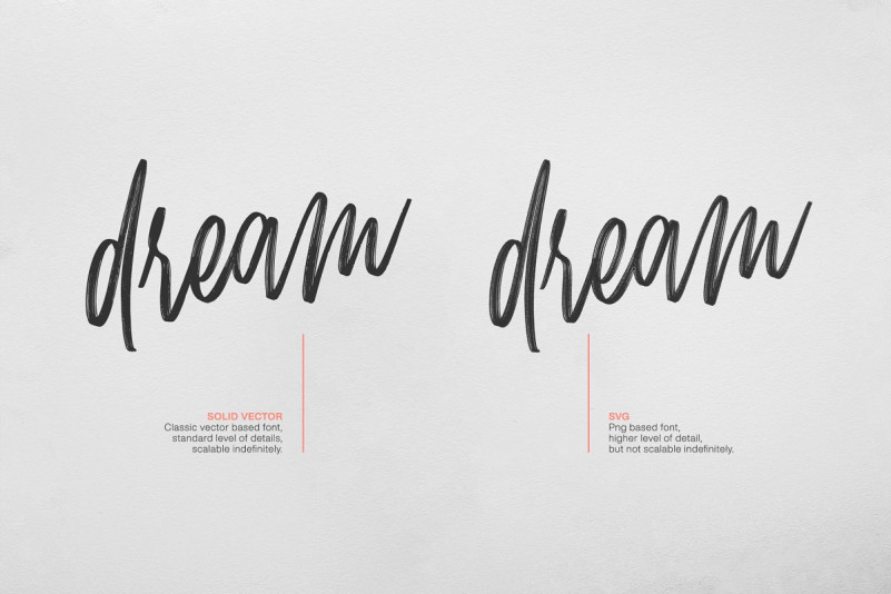 Mellow Brush SVG Font-2