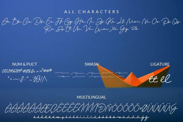 Monalisa Signature Font-3